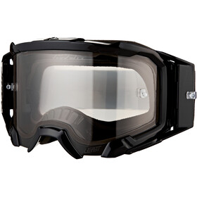 Leatt Velocity 5.5 Anti Fog Goggles, black/light grey